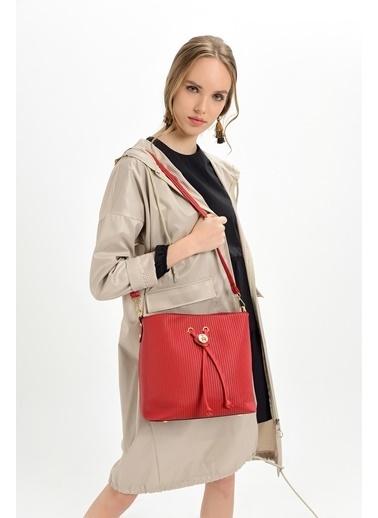 TH Bags Çanta Kırmızı
